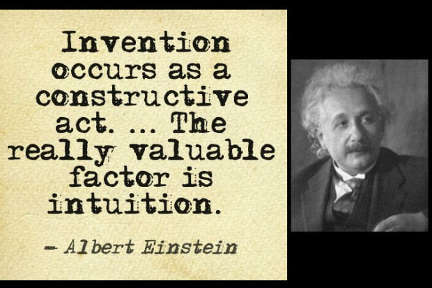 Einstein-intuition-quote