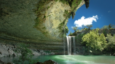 landscapes nature cave waterfalls land hamilton pool 1920x1080 wallpaper_www.paperhi.com_36