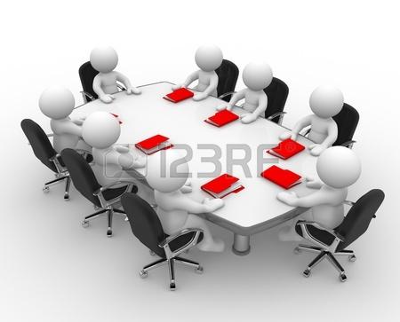 16850517-3-d-の人々---男性、人会議の席で、フォルダーのビジネスミーティング