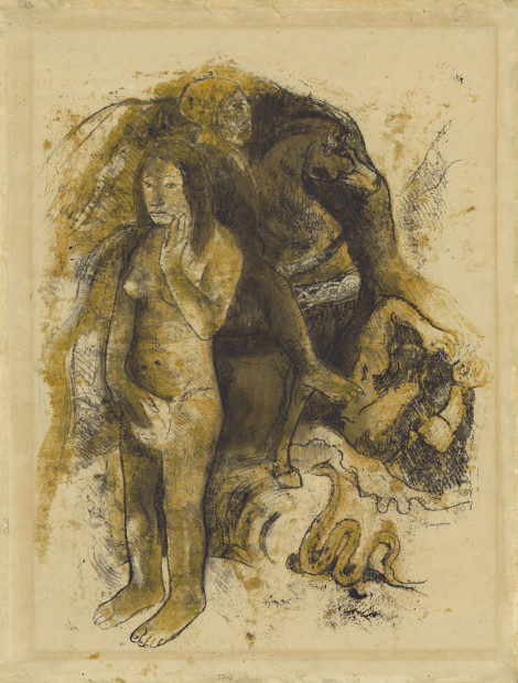 Paul_Gauguin,_Eve_(The_Nightmare),_1899–1900_monotype