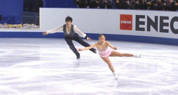 須崎海羽フィギュアの高校や身長は?木原龍一とのユーリオンアイスのペア演技動画が凄い!5