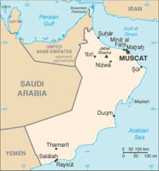 Oman-map