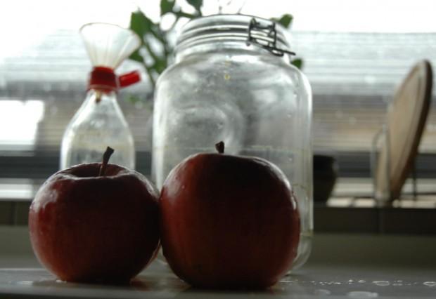 長野の林檎で酵素ジュースを作ってみました!