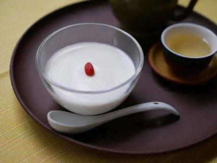 簡単に作れる絶品杏仁豆腐と予防的なバッチフラワーの使い方