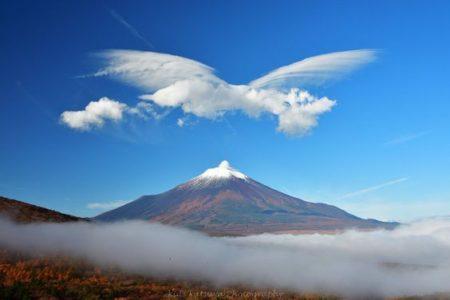富士山近くの「地鳴り」と変えることが可能なタイムライン